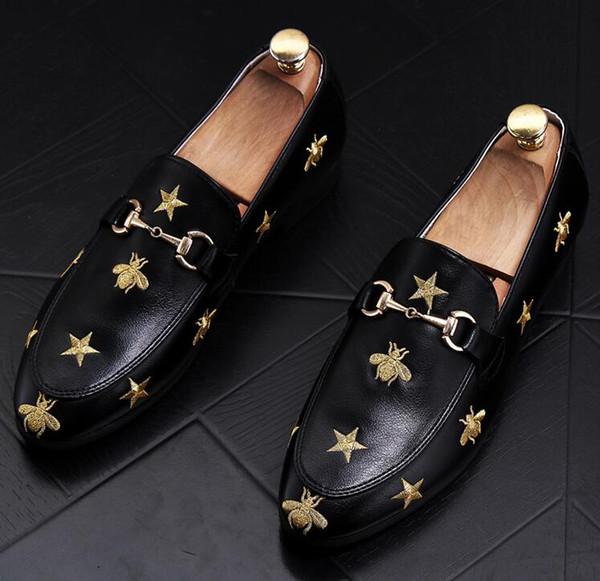 NOVA Melhor Qualidade de Couro De Couro Real Dos Homens Sapatos Casuais Designer de Luxo Oxford ao ar livre Sapatos de festa de casamento Casuais