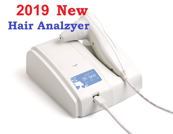 2019 Newest 8.0 MP High Resolution Digital CCD USB Multifunction UV Hair Analyzer Hair Camera Hairscope Hair Diagnosis DHL Free Ship