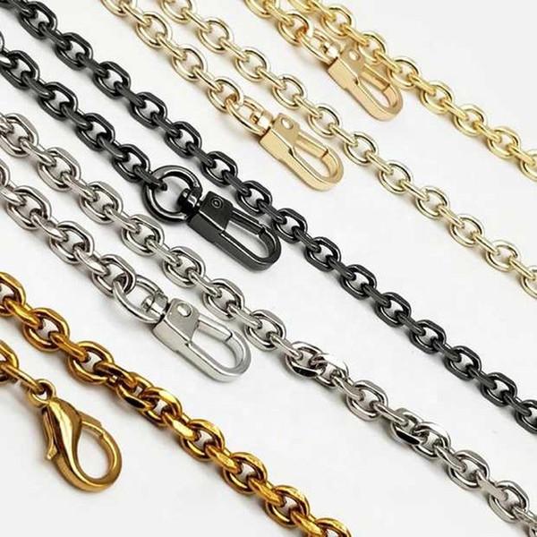 Meetee 60 100 110 120 centimetri di modo delle donne del messaggero della borsa della borsa della catena del metallo Bag Strap Accessori hardware H-J460