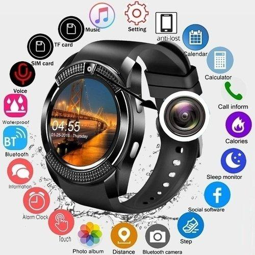 Smart Watch Y1 Bluetooth Relogio Android SmartWatch Phone Call GSM Sim Remote Camera Information Display Sports Pedometer saati