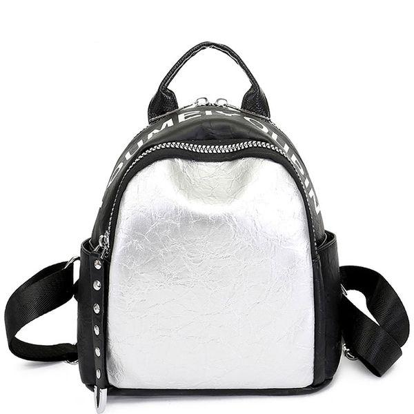 Горячая Письмо Рюкзак Для Женщин Молодежи Кожаные Рюкзаки Для Девочек-Подростков Женская Школа Сумка Простой Bagpack Mochila D114