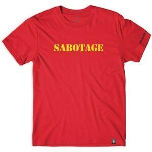 Girl T-Shirt Beastie Boys Sabotage Type Large