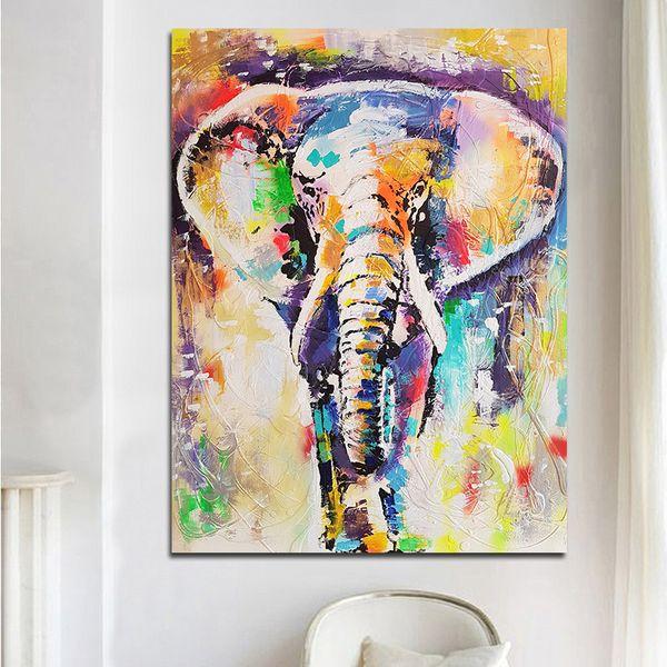 Acheter Wall Art Abstrait Peinture À L'huile