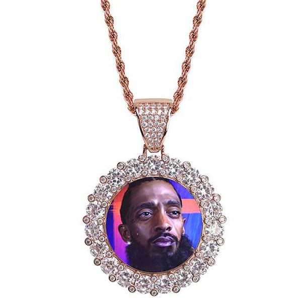 골드 빅 다이아몬드 + 로프 체인