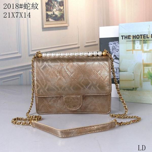 2019 new hot sale women handbags luxury crossbody messenger shoulder bags chain bag good quality pu relaxation leather purses ladies handbag