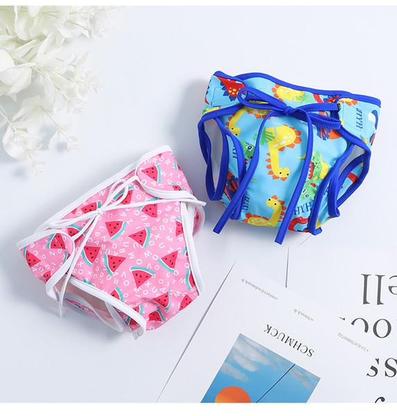 20 estilos Traje de baño para niños Bebés Pantalones cortos para bebés recién nacidos Troncos de natación impermeables para bebés Trajes de baño Trajes de baño de diseñador de una sola pieza bikini de diseñador