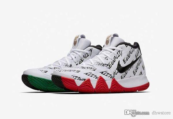 Mode Kyrie Chaussures 4 Baskets Décontractées Irving 4 Chaussures Multicolore Tie Dye Mamba Obsidienne Kyries Baskets De Sport Pour Hommes De Luxe Chaussures Hommes