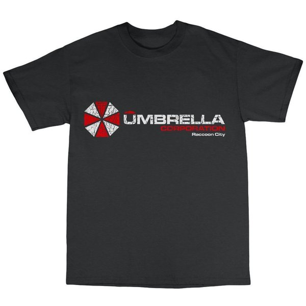 Umbrella Corporation T-Shirt 100% Cotton Evil Resident Afterlife Computer Game Funny free shipping Unisex Casual Tshirt top
