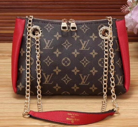 00181High-quality men and women carry purses, wallets, cards, shoulder bags, fashion bags, briefcases and retro bags6dg