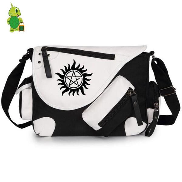 청소년 소년 소녀 학교 가방 여성 남성 크로스 바디 여행 가방에 대한 미신 샘 딘 메신저 가방 캔버스 숄더 가방
