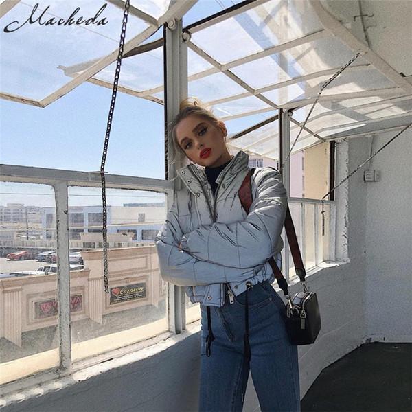 Farbe Großhandel Mantel 64 Rockgirl27 Damen Parka Winterjacken Grau Jacke Wintermäntel Von Kurze Warme Outwear Reflektierende Neue Damenmode UzGLMpqVS