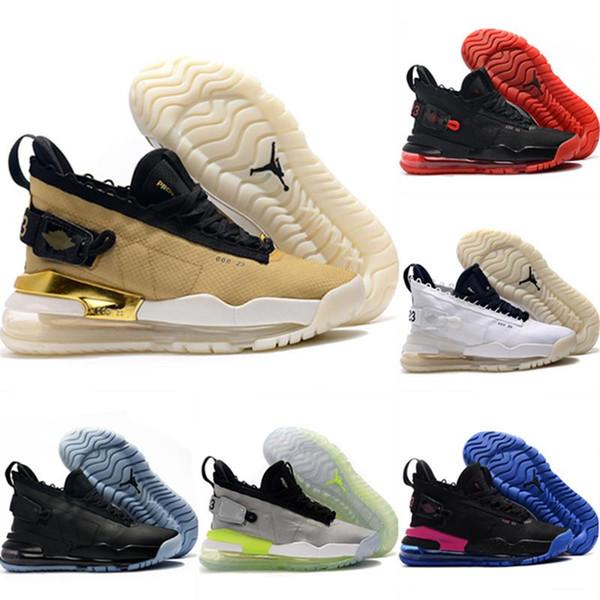 2019 Shoes Flyman 23 Gauze Net respirável Basquetebol Originals Flyman 23 All Zoom Air de amortecimento calçados esportivos