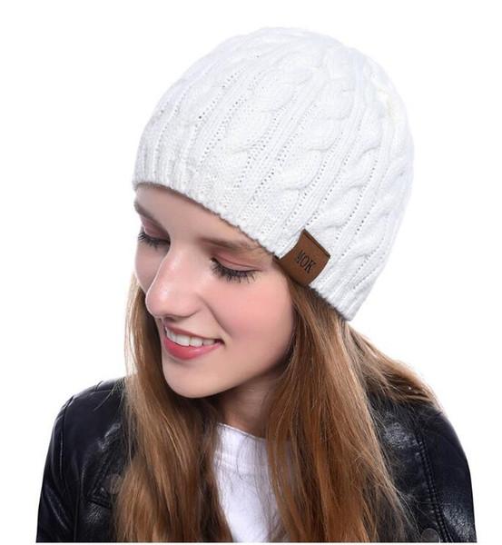 Nouvelle Mode twist Beanie Hiver Chaud Tricoté Chapeaux Unisexe Sport Cap Acrylique Designer Bonnets Femmes Hommes Hip Hop Crochet Chapeau