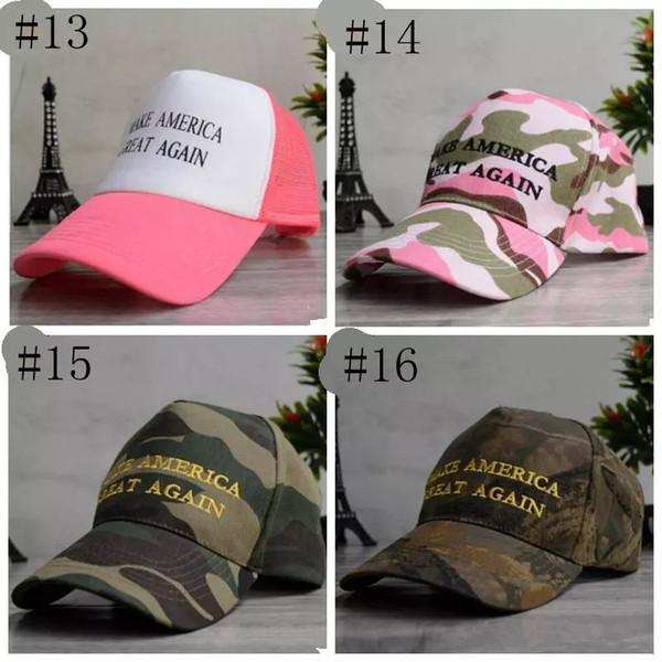 Women Men Donald Trump Republican Hat Make America Great Again Hats Cap Pink ~~