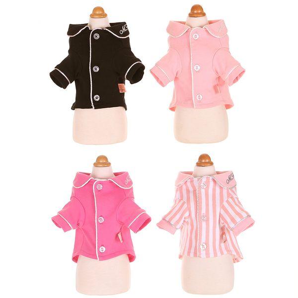New European and American style pet dog pajamas Teddy pet dog clothes dog pajamas trend comfortable
