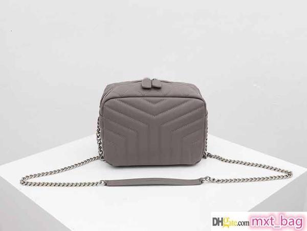 concepteur sac à main de luxe Y authentique bracelet chaîne en cuir boîte à bandoulière d'épaule femmes carrés bacs de mode sac