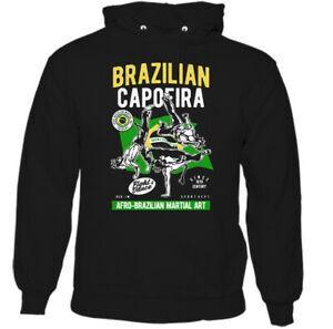 Brazilian Capoeira Mens Martial Arts Dance Hoodie