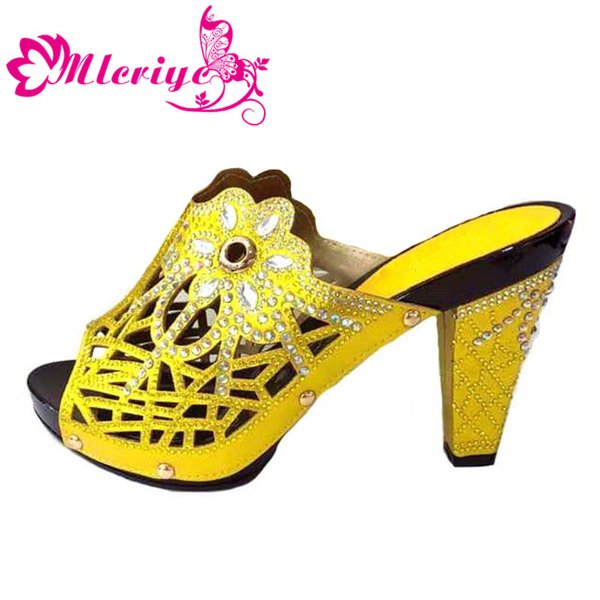 Yellow only shoe