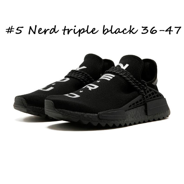 #5 Nerd triple black 36-47