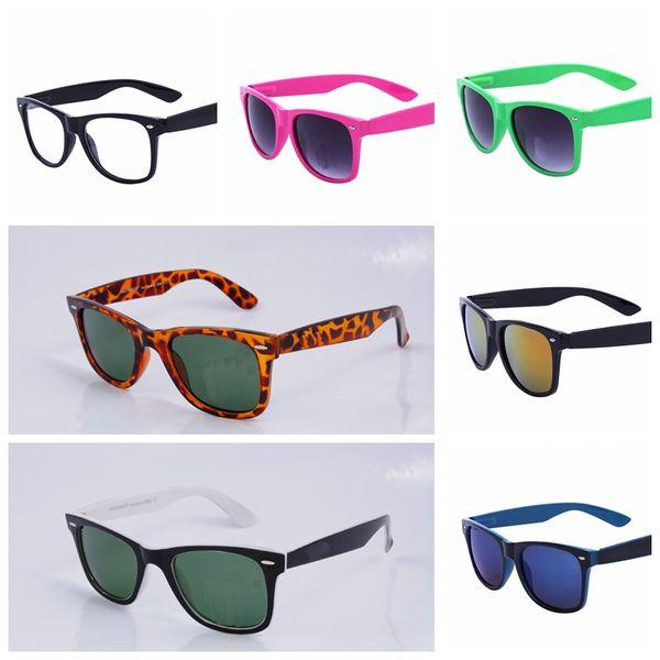 2018 Excellent Quality 21403 Ray Aviator Sunglasses Bans Frame Glass Lenses Brand Designer Sunglasses for Man Women