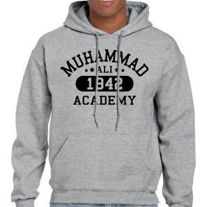Muhammad Ali Academy Mens Boxing Hoodie Training Top MMA Martial Arts Gym Boxer