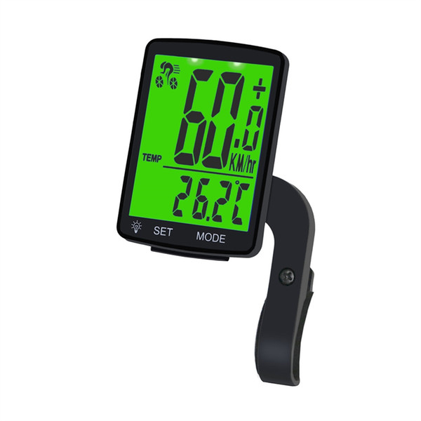 Bike Computer 2.8 Large Screen Speedometer Wireless Bicycle Computer Rainproof Stopwatch Cycling Mtb Road Odometer LED Backlight #106558