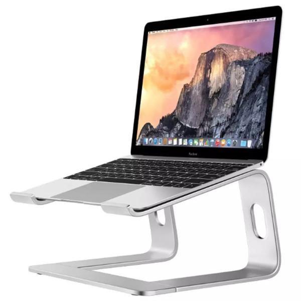 Desk Laptop Notebook stand Calor Redução de liga de alumínio Bracket Ângulo Base de resfriamento ajustável Stands Suporte