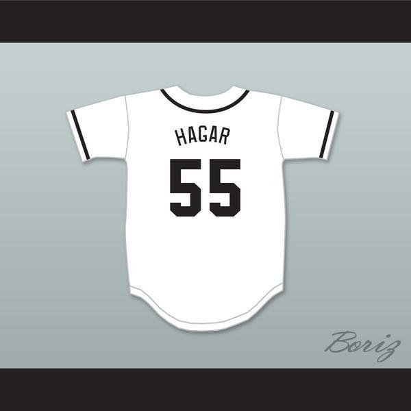 Sammy Hagar 55 Salamanders Baseball Jersey 1º Annual Rock N' Jock Diamante Derby.
