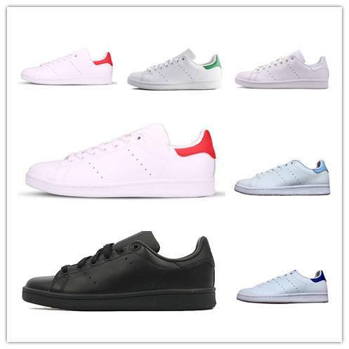 Mulheres homens new stan sapatos de couro de alta qualidade esporte clássico apartamentos sapatilhas smith moda Sapatos casuais elegante e confortável