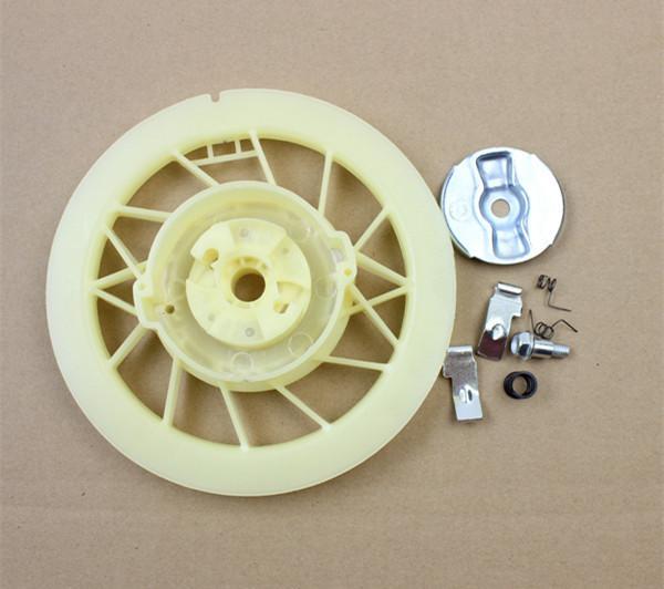 Starter pawl kit for Honda GX340 GX390 GX420 GX440 GX610 GX630 friction plate pull start screw spring ring retainer 5KW 8KW