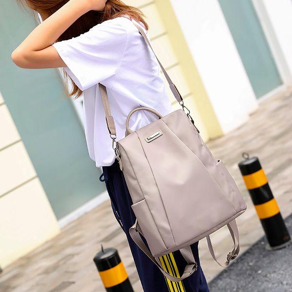 Mulheres Moda Saco Peito Cintura Packs Mulheres Bolsa de Ombro Mochila de Viagem viagem anti-roubo Oxford mochila de pano # J3