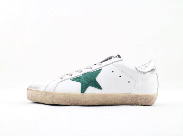 Топ полный продажи для тенниса мы белый с Dermis High Flity Повседневная обувь Мужская Женская Superstar Тренер 35-45