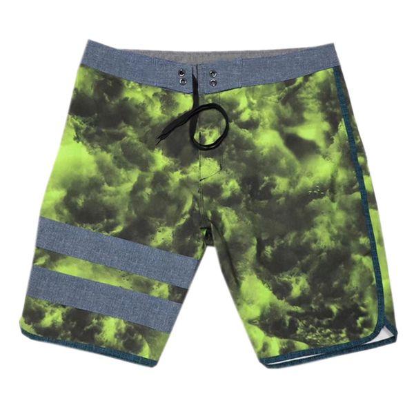 top popular Plus Size 4Way Stretch Beachshorts Mens Boardshorts Fashion Surf Pants Board Shorts Bermuda Shorts Male Casual Shorts 30 S 32 M 34 L 36 XL 2019