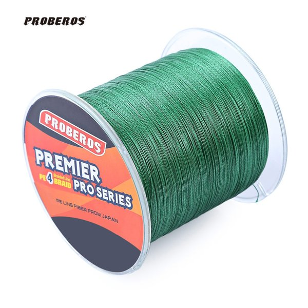 4 strands New 500M Durable Line 5 Colors PE 4 Strands Monofilament Braided Fishing Line Angling Accessory for Outdoor Fishing Tool