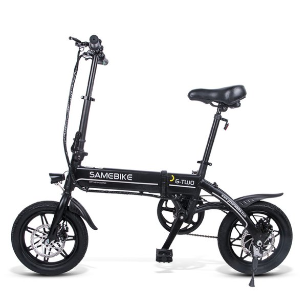 best selling SAMEBIKE 250W High-Speed Brushless Gear Motor Electric Bike Aluminum Alloy 36V 8AH Battery LCD Display Foldable Electric Bicycle