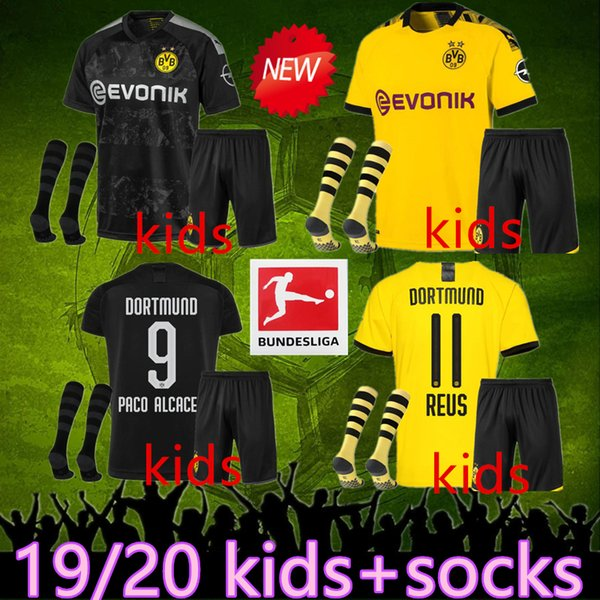 Dortmund Reus Fanshirt trikot shirt shorts /& socken set kinder boys