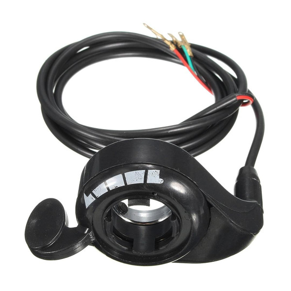 3 Wire 7/8'' Universal Thumb Throttle for Electric Scooter E-Bike Speed Controller 12V 24V 48V
