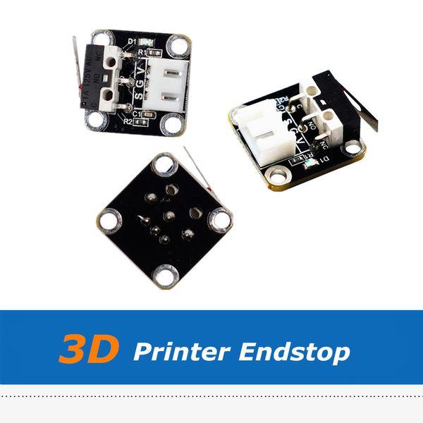 3 шт. / Лот 3D принтер Часть Creality CR-10 Endstop, CR10 Механический концевой выключатель с 1 м 3-контактный кабель