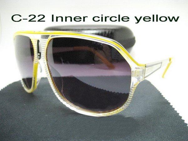C-22 cercle intérieur jaune