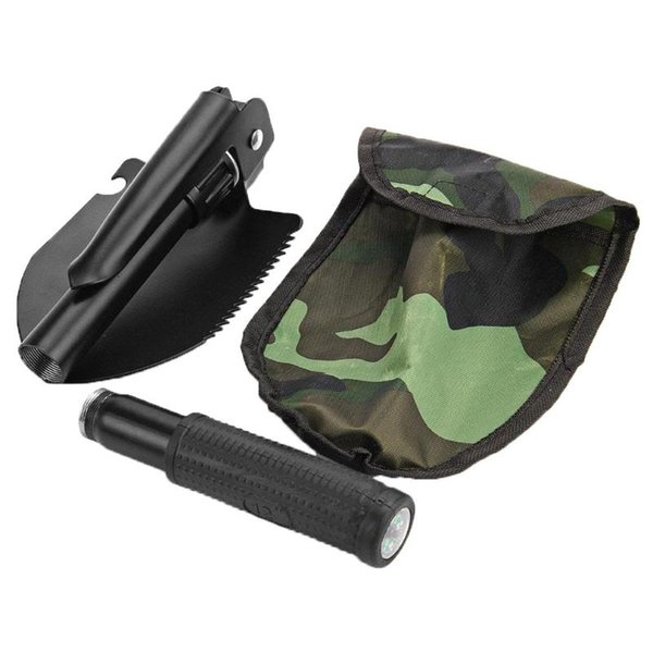 Садовые инструменты Мини- Портативная складная лопата выживание лопата Emergency Мастерок Для Открытого кемпинга Инструмент
