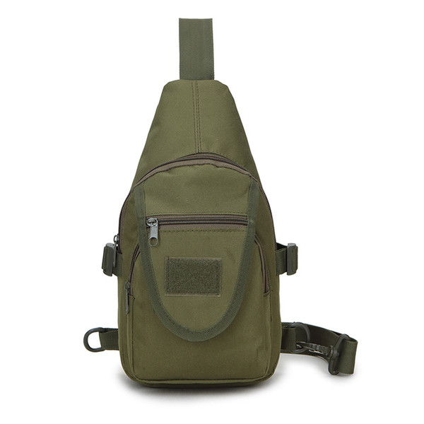 Pockets Casual Travel Mountaineering Pockets Oxford Chest Pack Waist Bag Men Functional Tactical Breast Bag Cross Shoulder