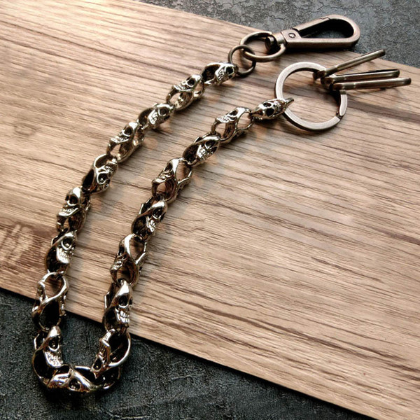 Skull Long Style KeyChains