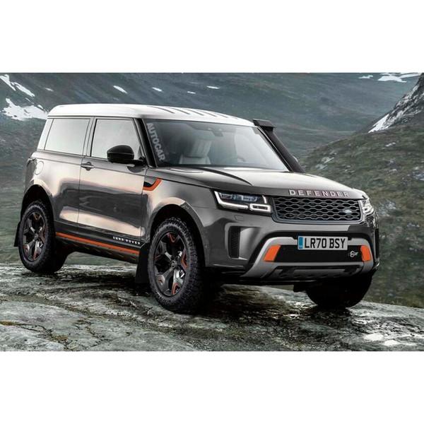 4pc adesivos em carros interior dentro maçaneta da porta atmosfera lâmpada para Land Rover Defender Discovery Evoque Freelander Range Rover