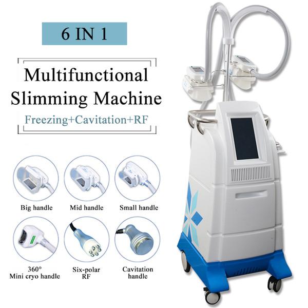 cryolipolysis slimming fat reduce machine vacuum beauty equipment cavitation slimming system rf skin rejuvenation 360 degree mini fat freeze