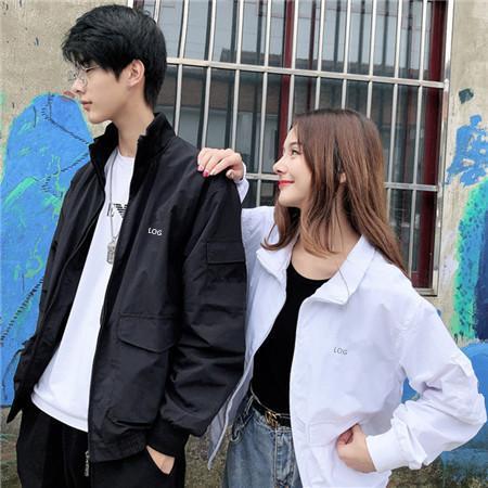 2019 Yeni Tasarımcı Erkek Moda Gevşek Ceketler Marka Yüksek Kalite Uzun Kollu ve Doğal Renkler ile Spor Ceket için Boyut S-2XL QSL198213