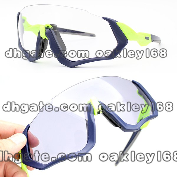 2019 New OO9401 Flight Jacket Riding Sunglasses Bicycle Outdoor Polarized Riding Mirror Color Sunglasses Mens Sport Sunglasses