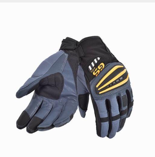 Revit Motorcycle Gloves black/white Racing Gloves Genuine Leather Motorbike Gloves A