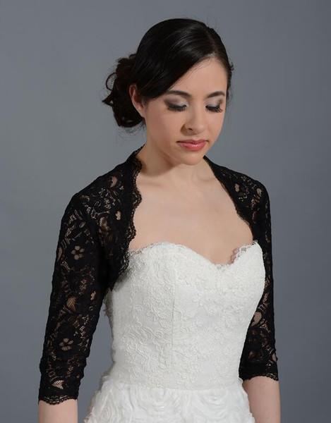 4 Color Bridal Lace Shrug Bolero Cape Wrap Jacket Shawl Capelet Tippet Wedding
