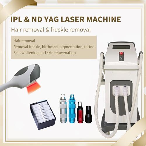 4 in 1 depilazione SHR IPL IPL laser ringiovanimento della pelle SHR IPL pico yag nd laser multifunzione attrezzature salone di bellezza