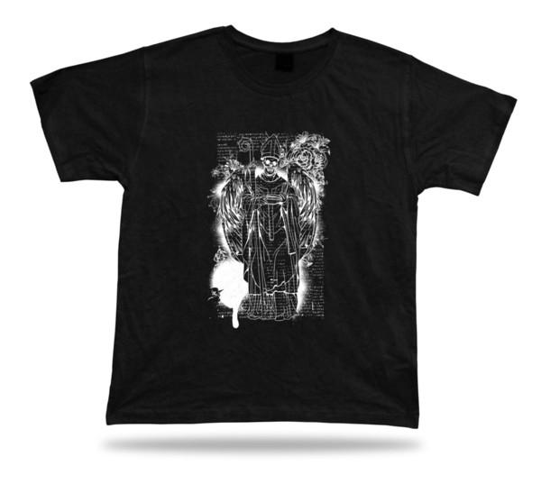 Angel of Death Demon Wings rose floral tshirt design special birthday gift tee